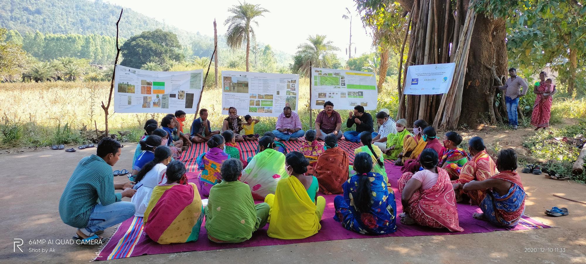 Bio-Baumwoll-Projekt mit gedeihlichen Aussichten