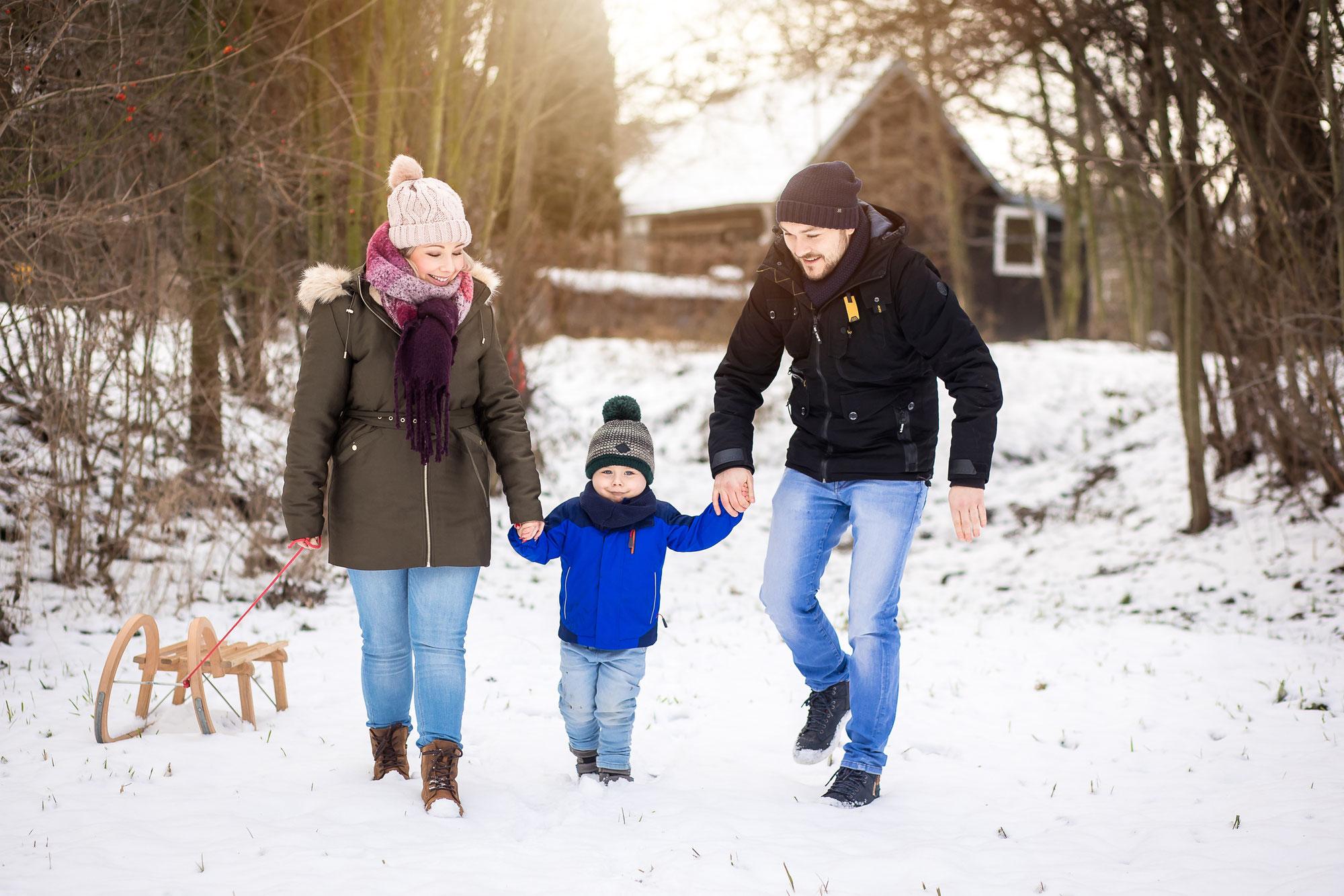 Familienfotoshooting in Dresden