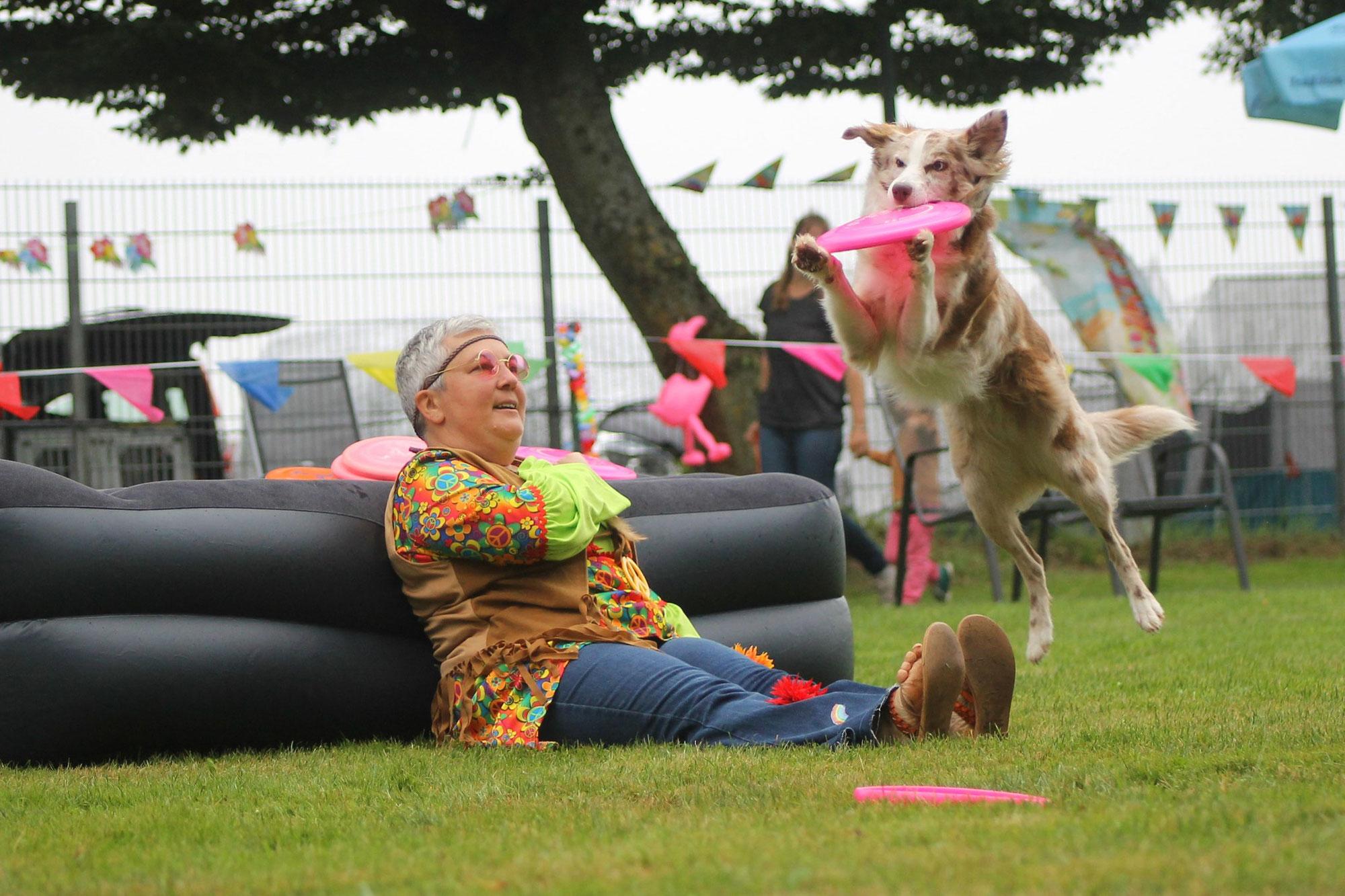 Fun Dogfrisbee Beach & Hawaii Turnier