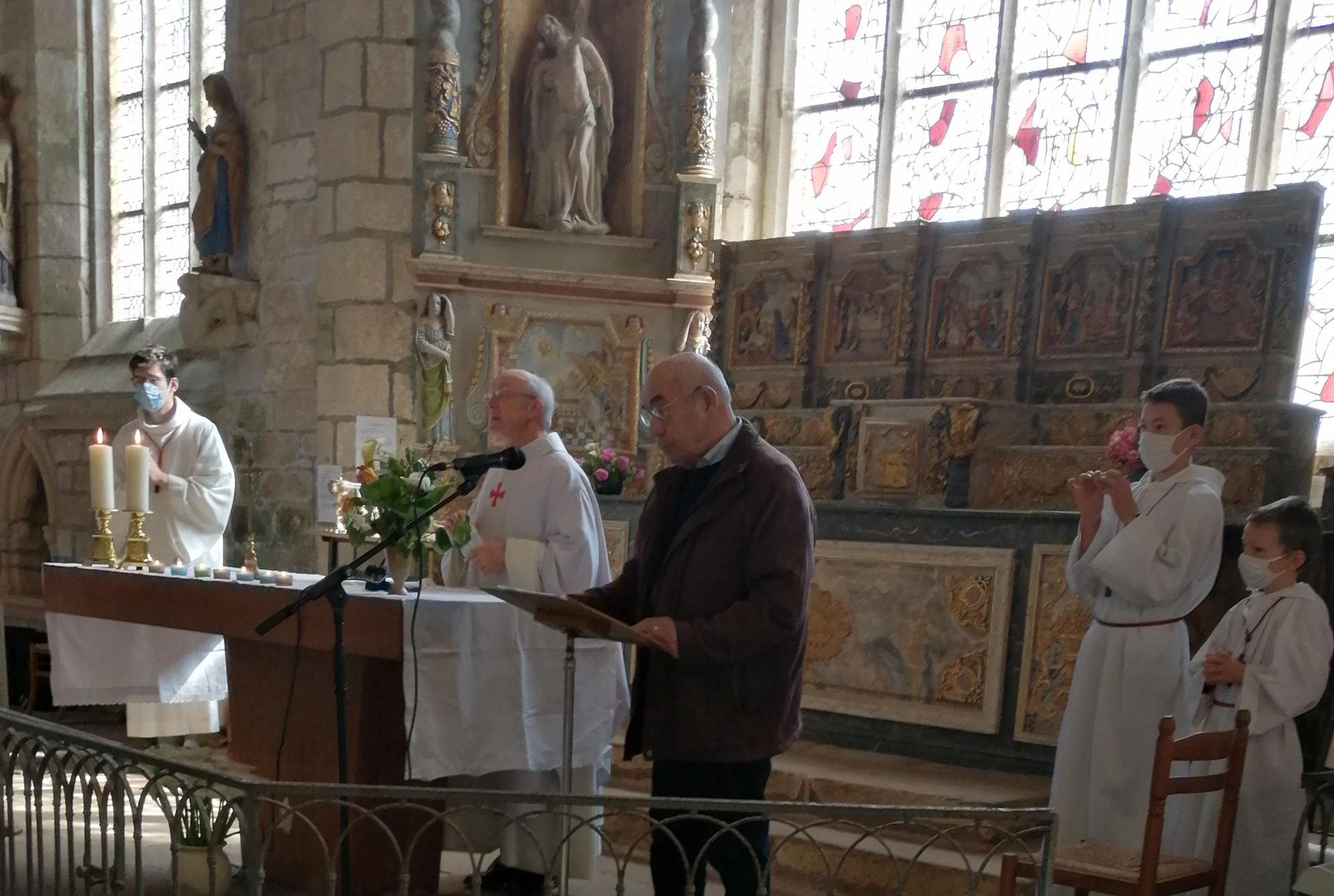 Haute-Bigoudénie: dimanche de la Trés Sainte Trinité