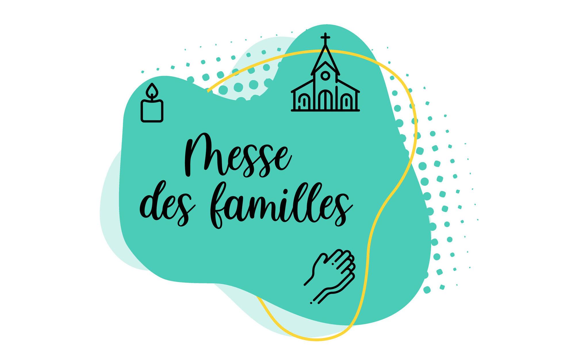 Messe des Familles le 17 octobre 2021