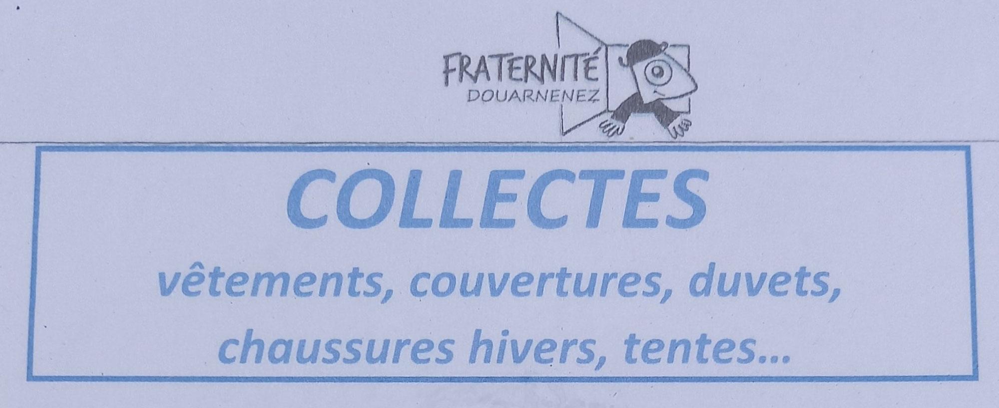 Collectes de Fraternité Douarnenez