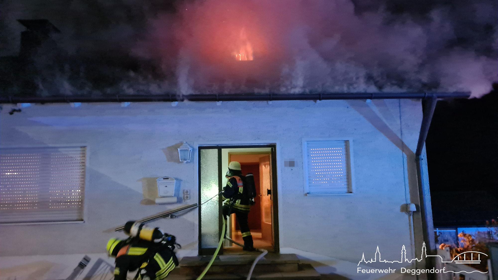 Brand/Rauchentwicklung im Gebäude