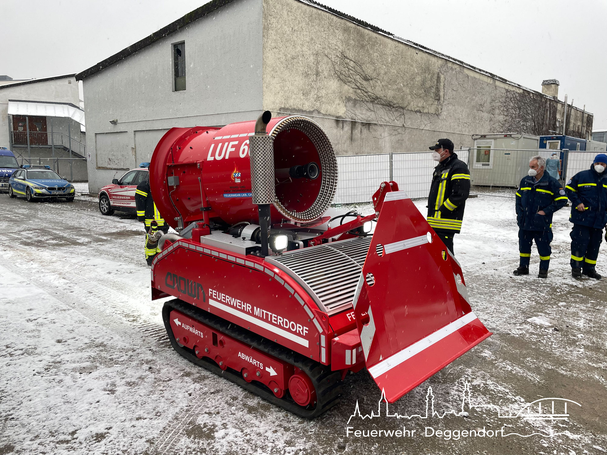 Amtshilfe Katastrophenschutz
