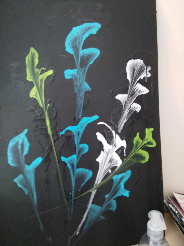 """Atelier """"Peinture des fleurs chaines"""""""