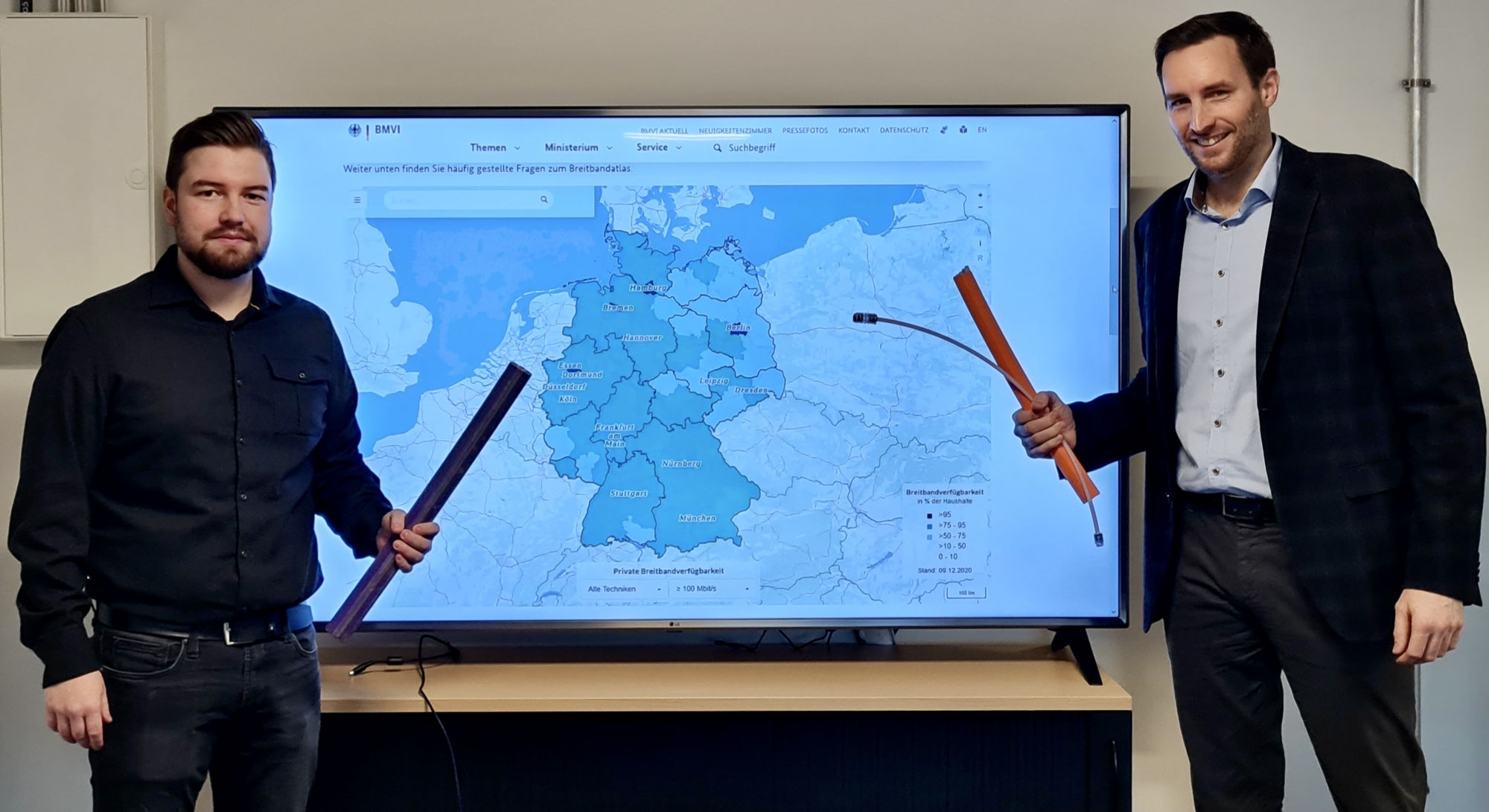 """Breitbandförderung: Die """"Grauen Flecken"""" kommen"""