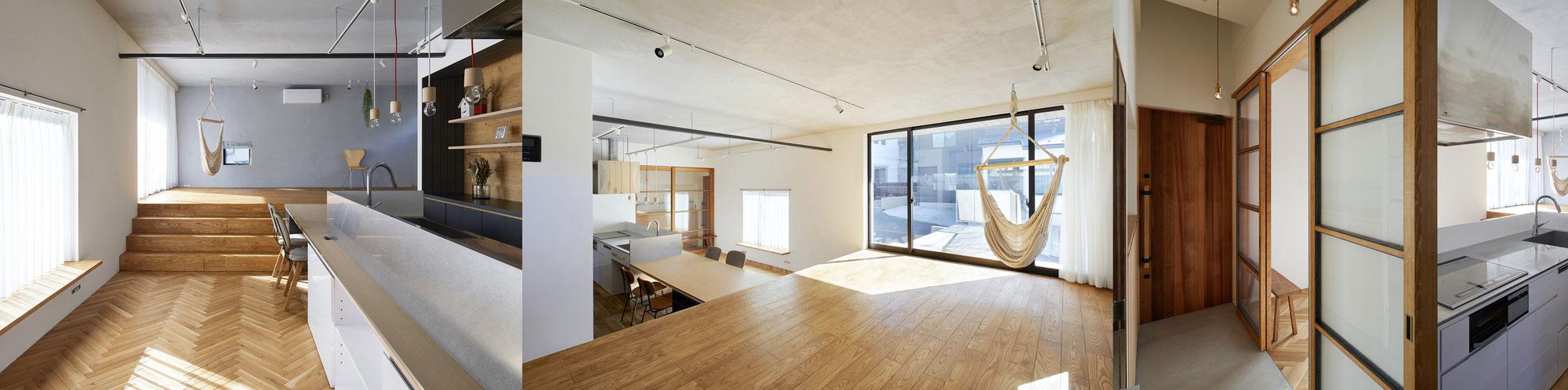 House in Horikoshiのこだわり【床について】
