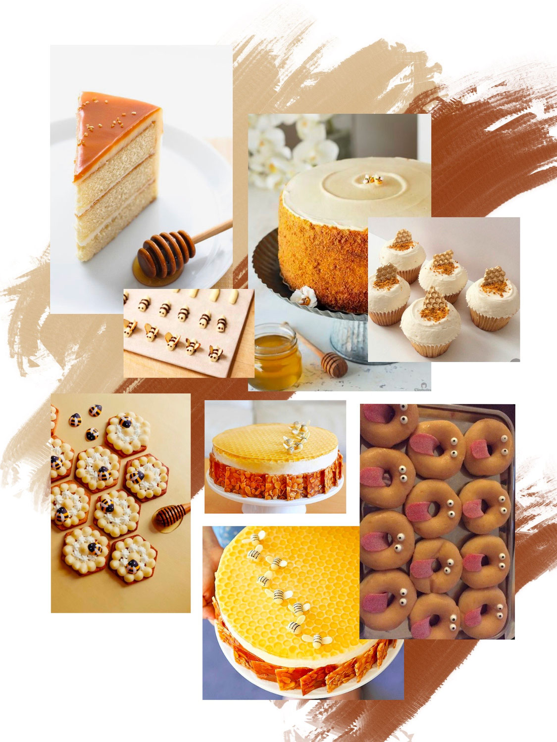 bees & honeycomb party theme - inspiration board