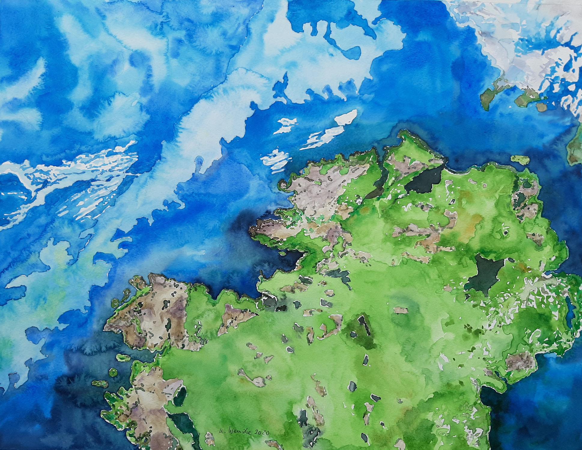 """""""Der blaue Planet""""  - Themenausstellung der Gruppe 13"""