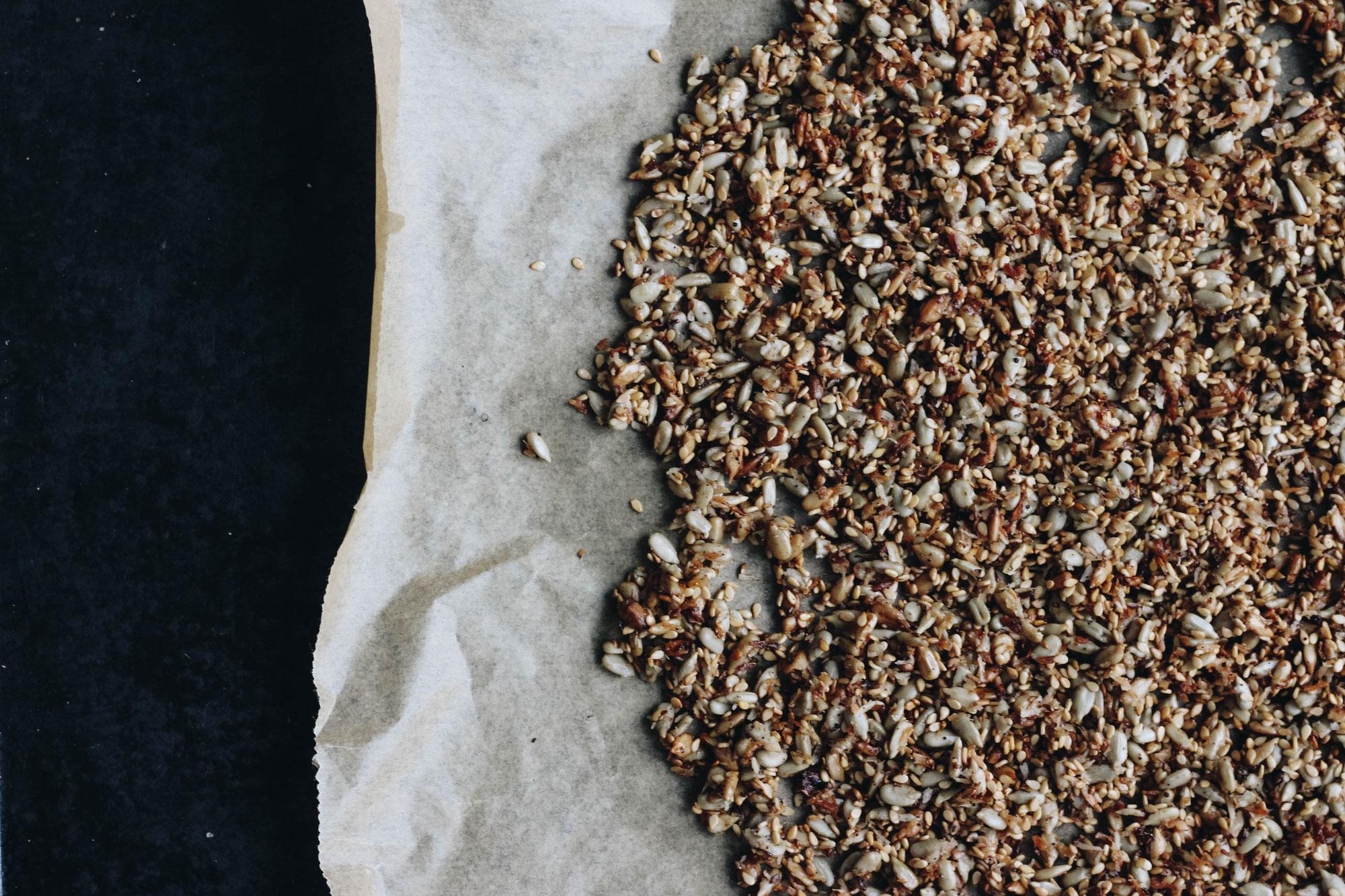 Getreidefreies Kern Granola // Grain Free Seed Granola