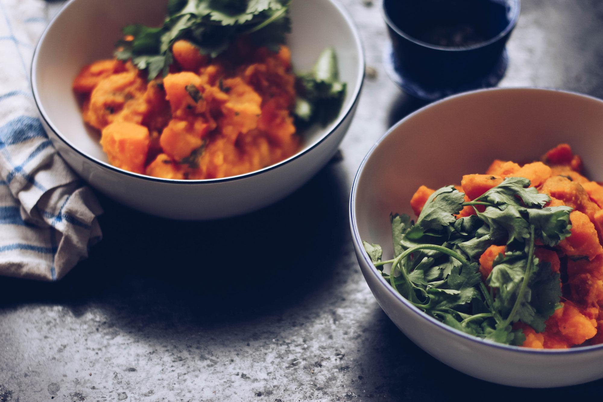 Sattvisches Kürbis Curry // Sattvic Pumpkin Curry