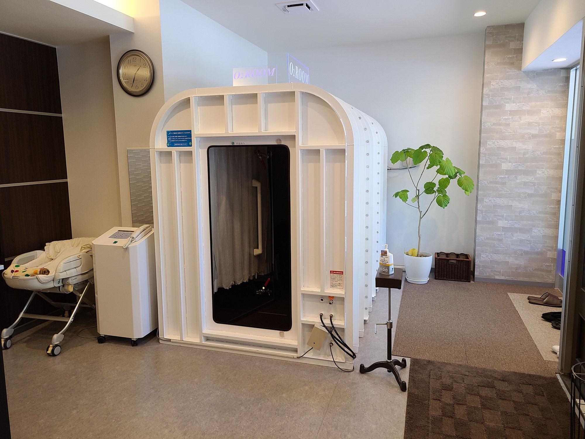 高気圧酸素ルームとはくば整骨院の整体で夏の暑さから来る不調を改善しましょう!