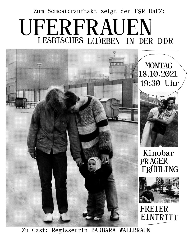 "Semesterauftakt ""Uferfrauen"", Kinobar Prager Frühling"