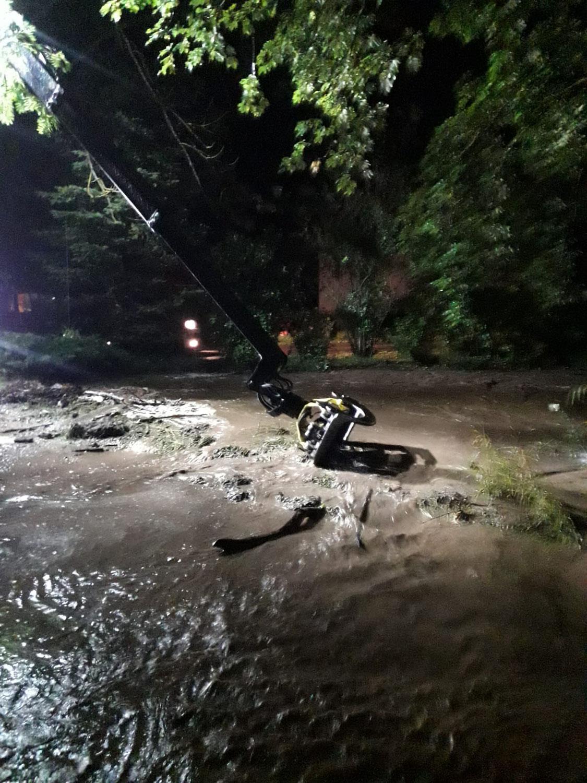 Überschwemmung in Kernhof