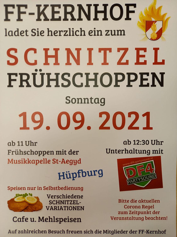 Schnitzel Frühschoppen