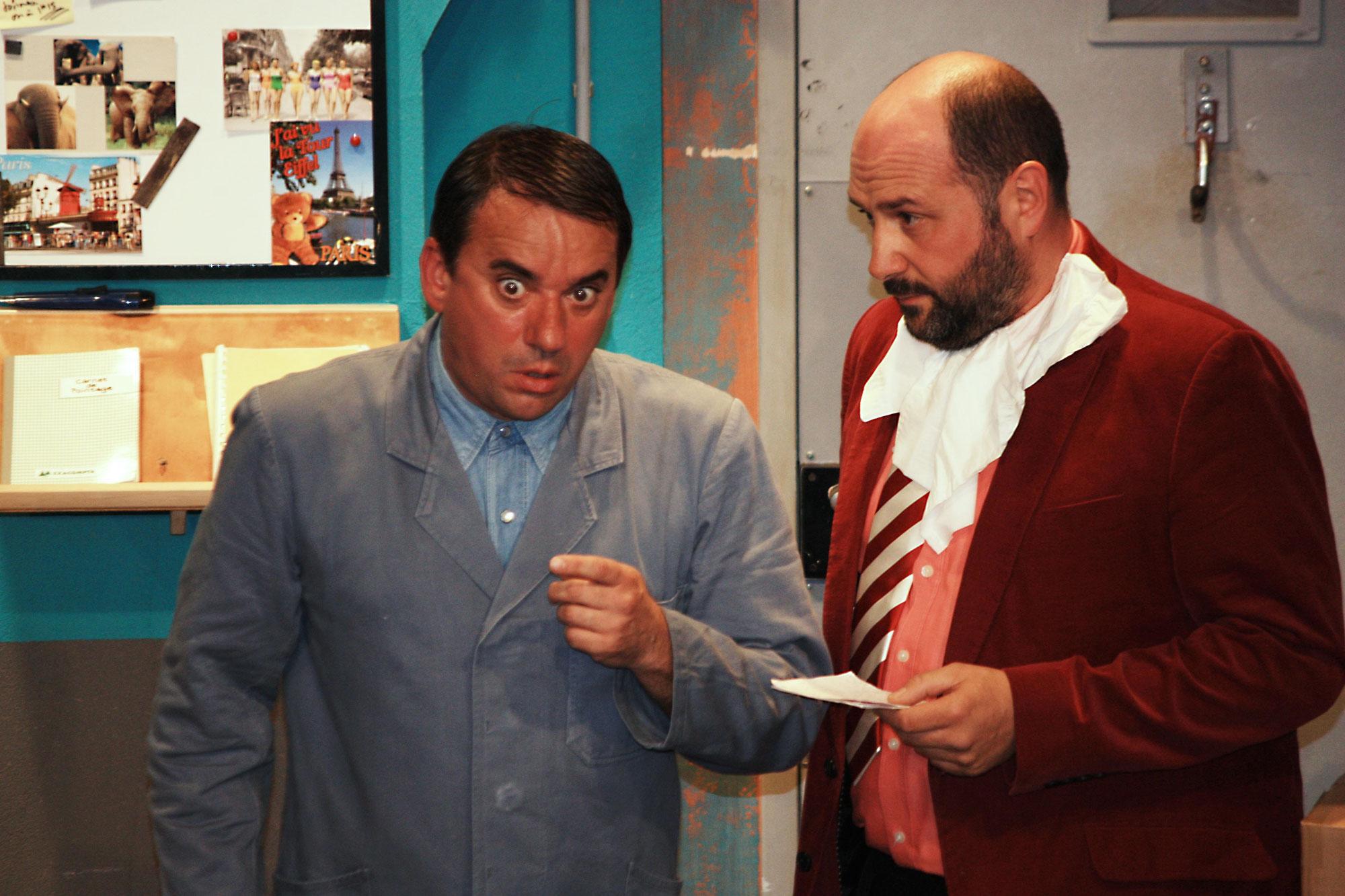Théâtre : Têtes de Gondole