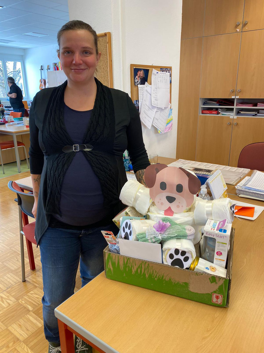 Abschied in die Babypause