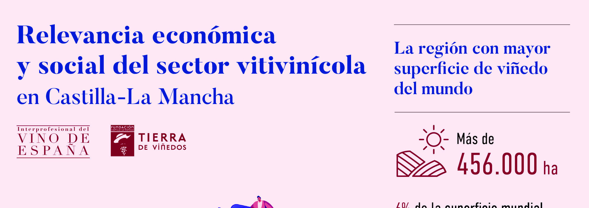 Estudio Importancia sector vitivinícola en Castilla-La Mancha