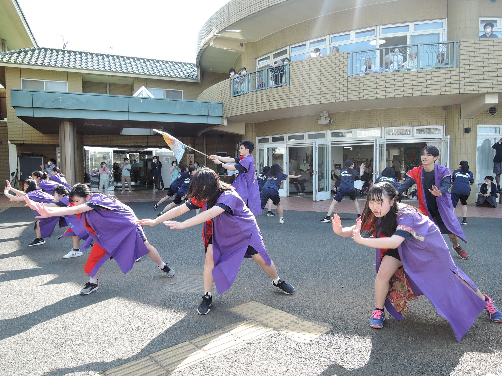 千葉県立松戸国際高校 来演‼