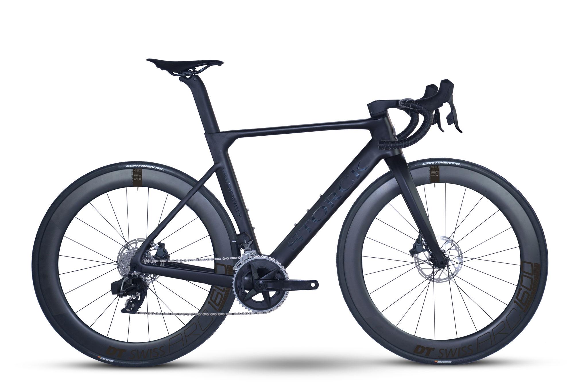 STORCK Bicycle mit brandneuer Gruppe SRAM Rival eTap AXS