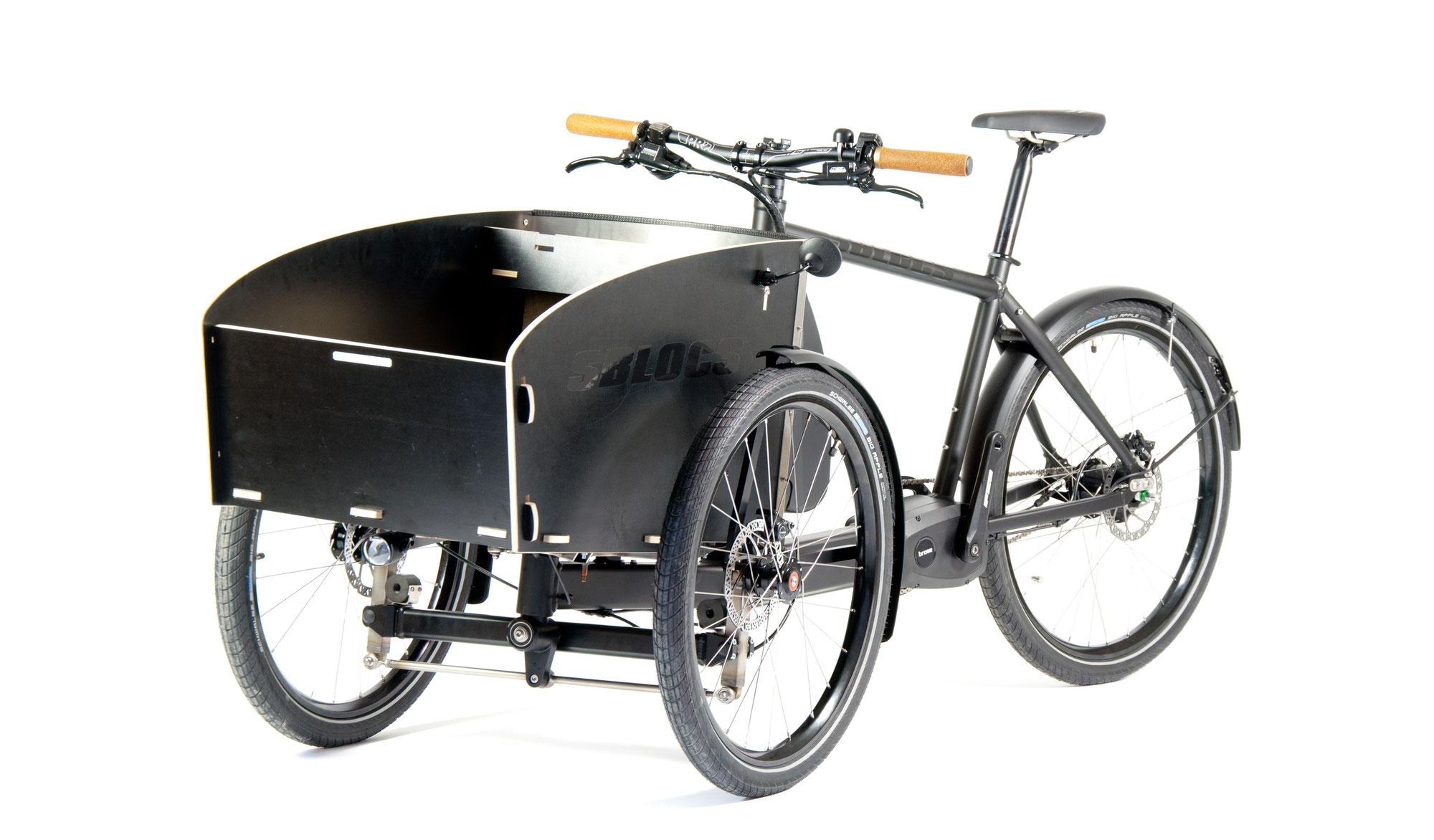 cargobikes mit Neigetechnik, die in jeder Hinsicht einfach bleiben