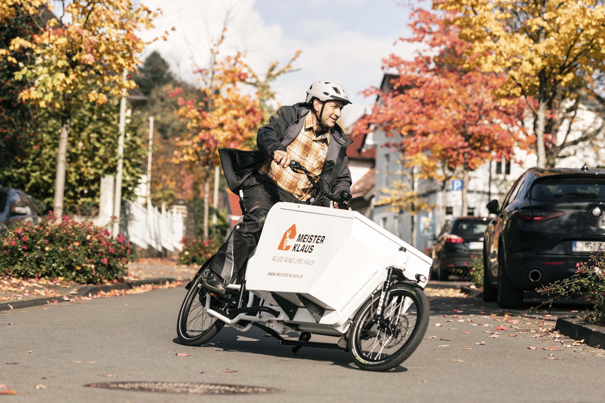 Tragfähig und pannensicher – Schwalbes neuer Reifen für das Cargobike
