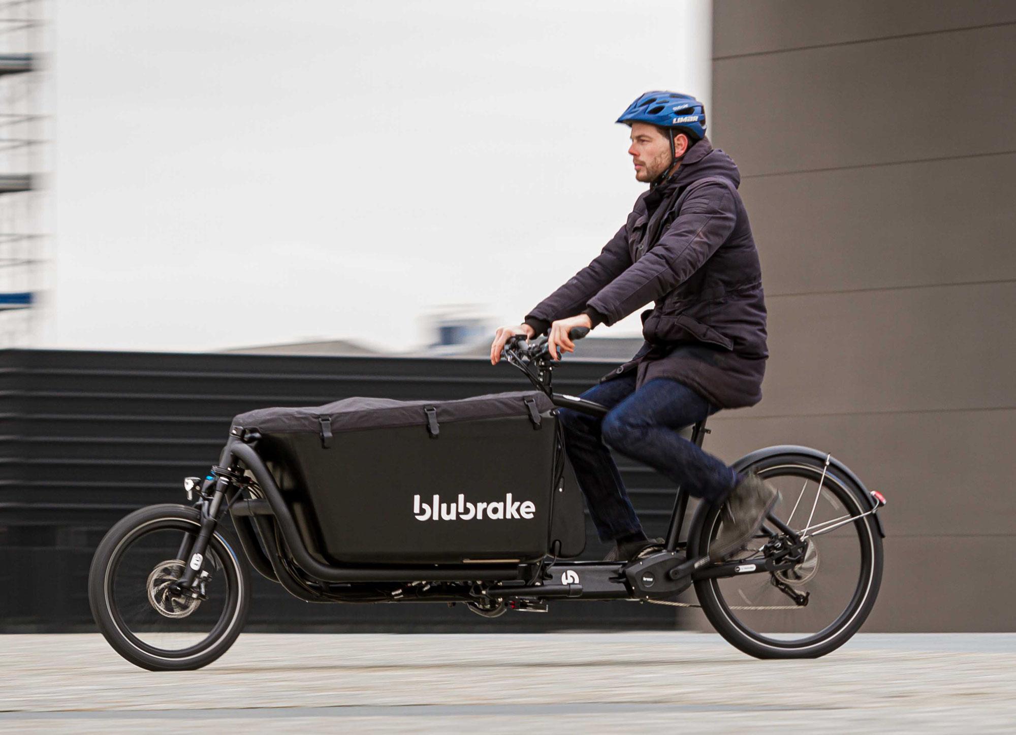 Blubrake präsentiert das erste ABS für Cargo-E-Bikes
