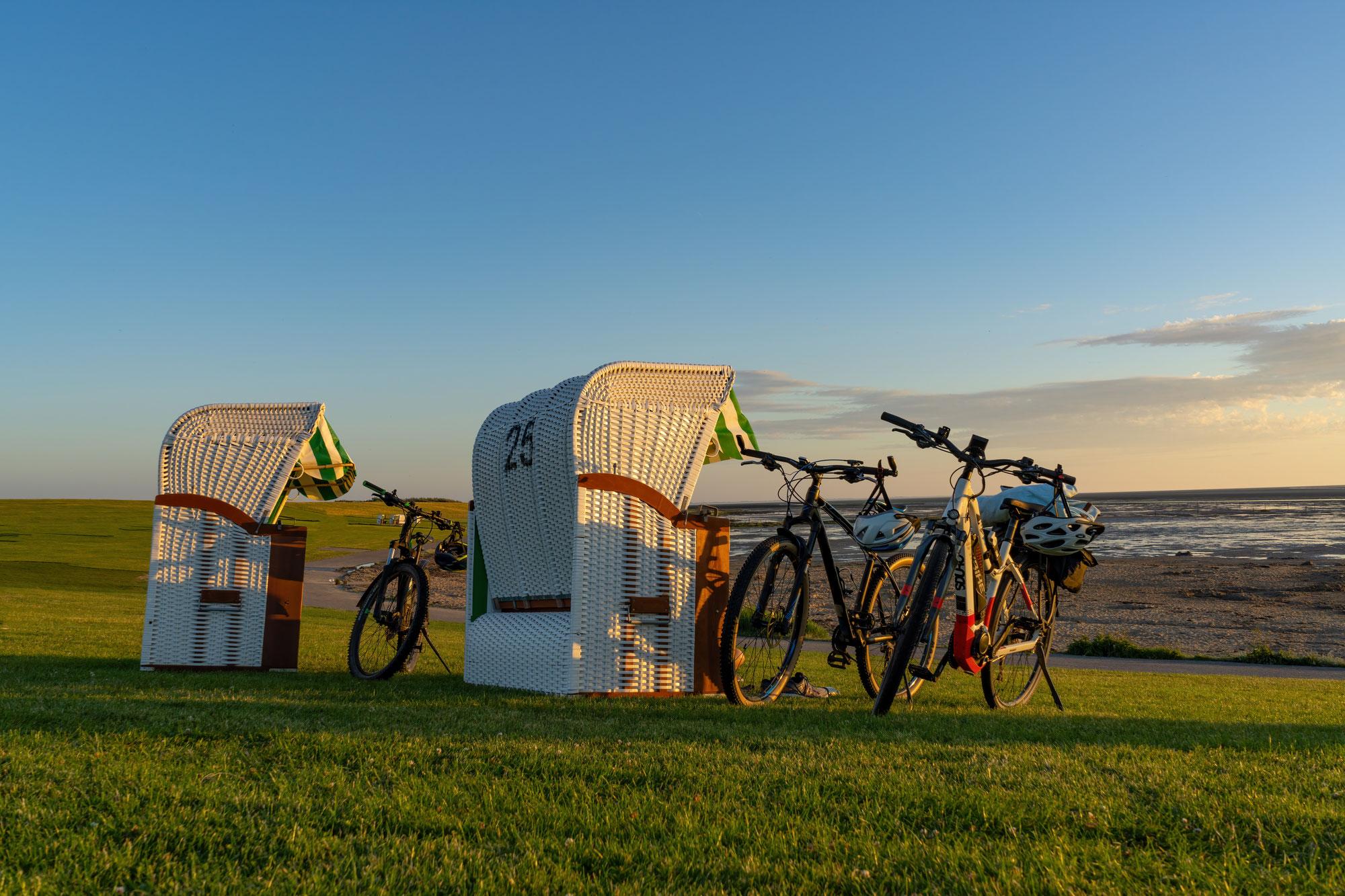 Radeln mit Meerblick: Radfahren an der Nordseeküste
