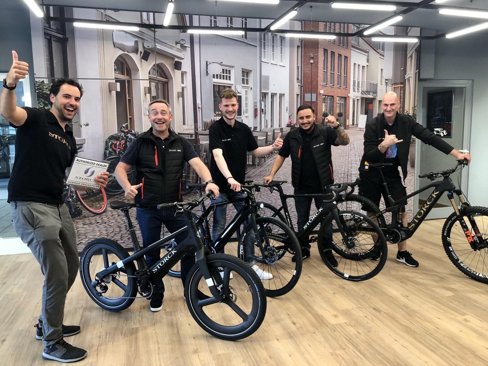 STORCK Bicycle mit SENGER|NEO in weiterer E-Mobility Kooperation