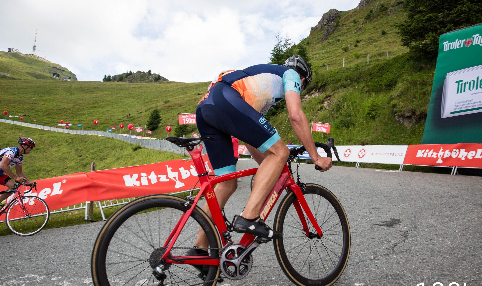 Der Kitzbüheler Radmarathon feiert am Sonntag Premiere