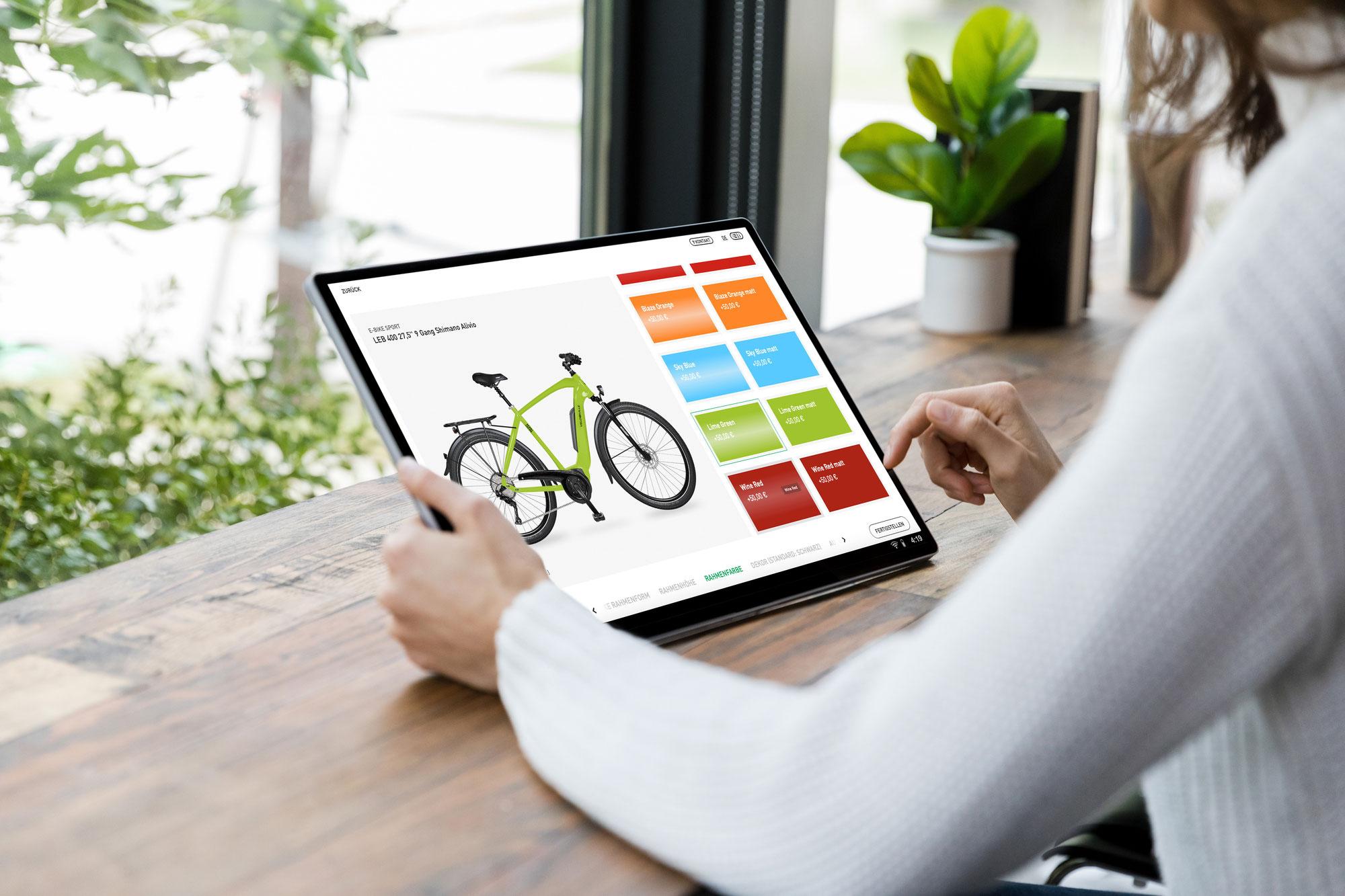 VELO DE VILLE präsentiert neuen Online-Konfigurator