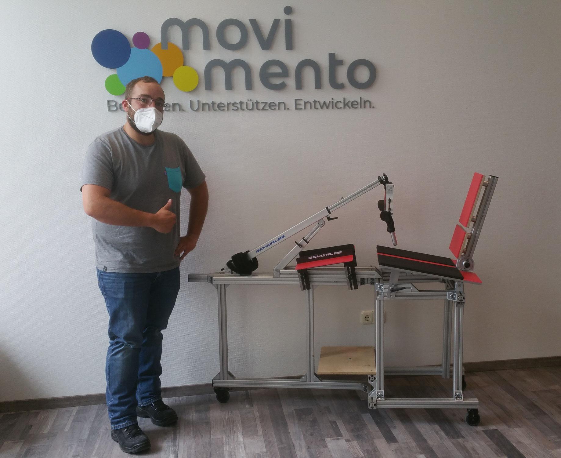 Mehr Mobilität für körperlich behinderte Menschen dank elektrisch unterstützter Handbikes