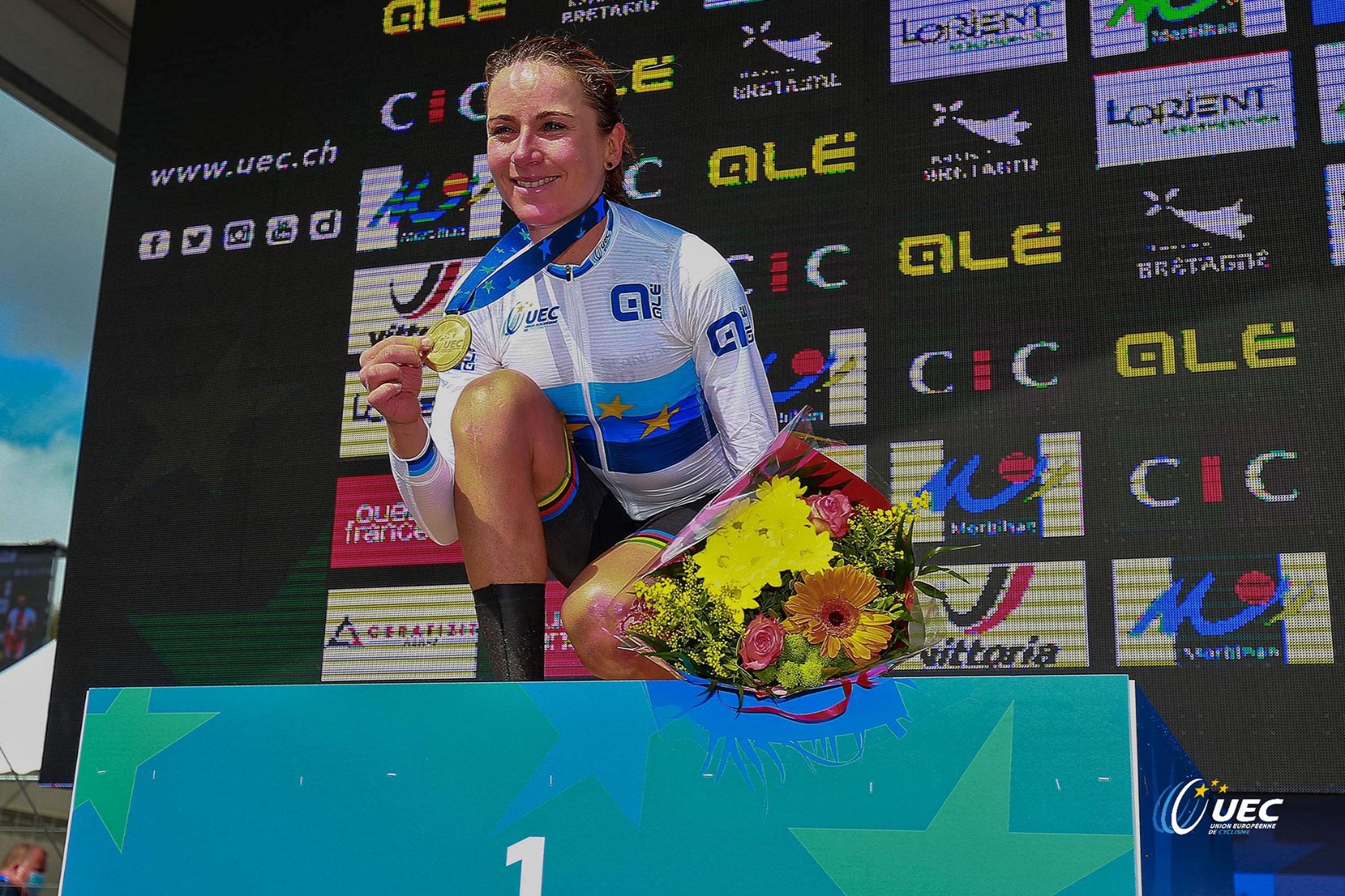 Die Radsport-Europameister 2021 in ALÉ-Kleidung