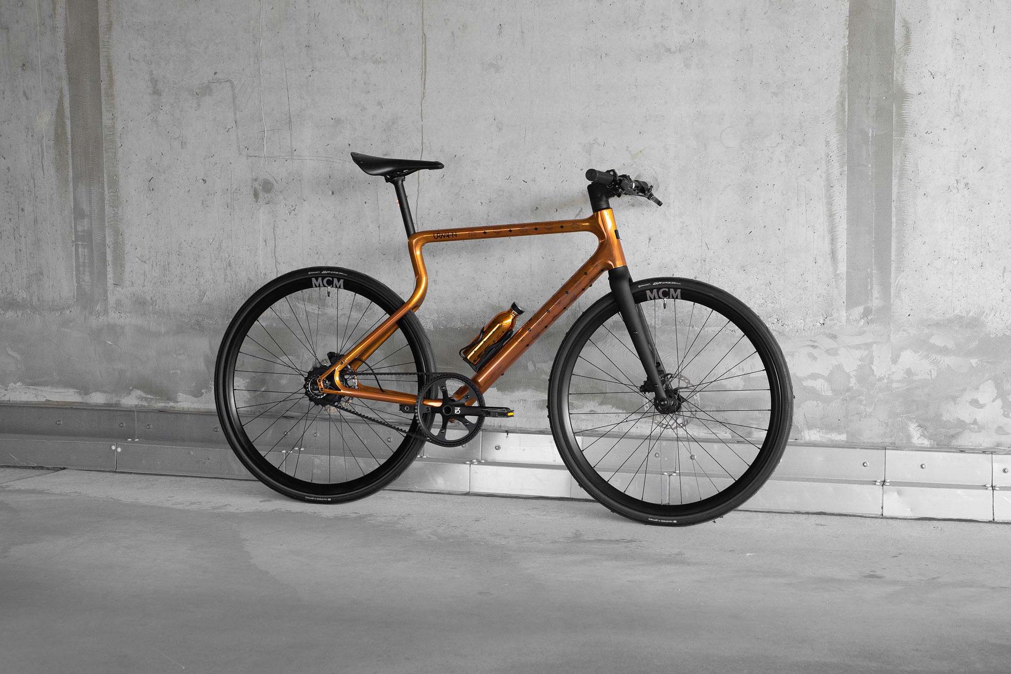 MCM x URWAHN: das weltweit erste Luxus E-Bike aus dem 3D-Drucker