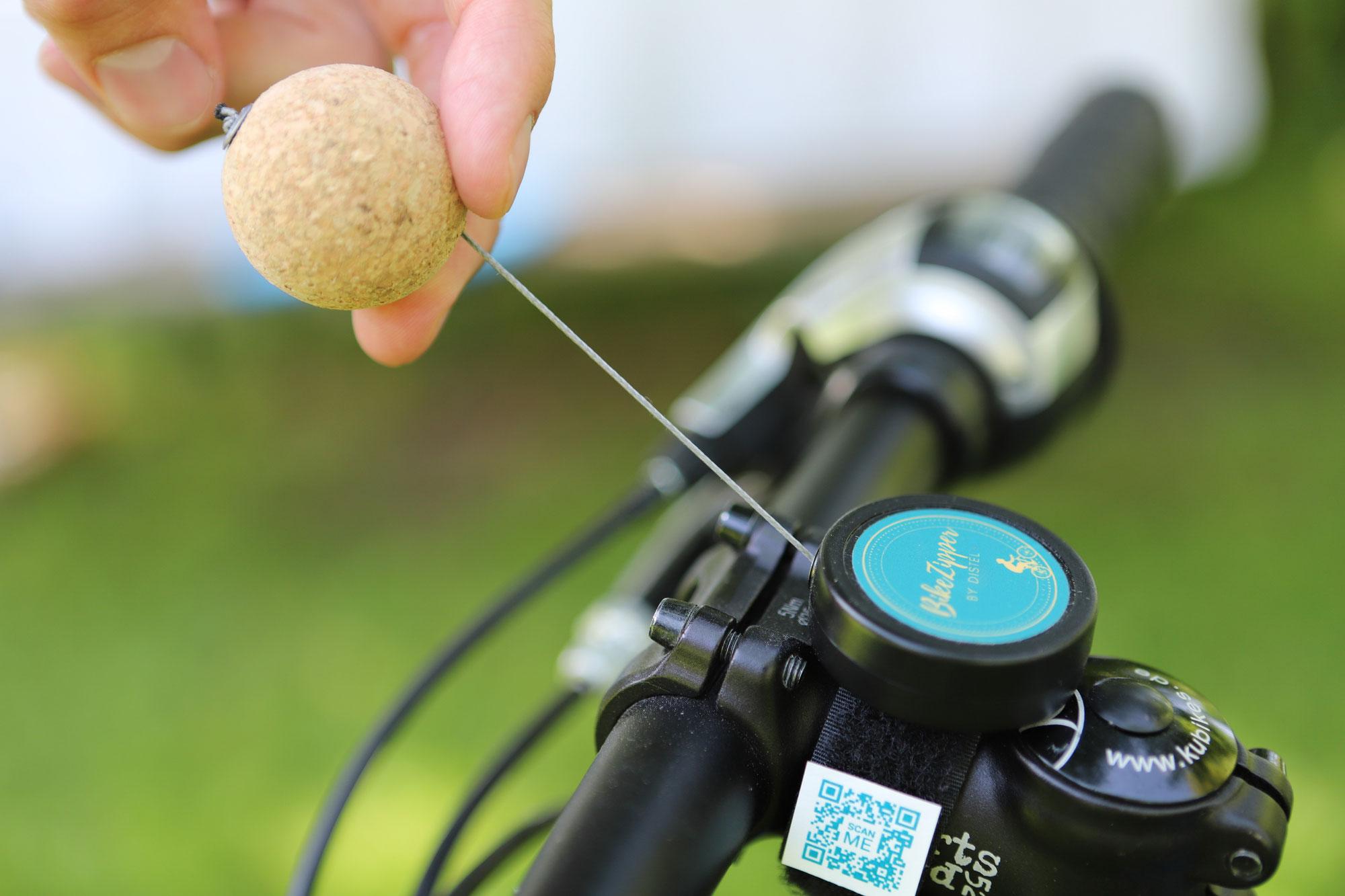 Produkt-Ticker: BikeZipper - Das intelligente Abschleppseil für radelnde Kinder und Eltern