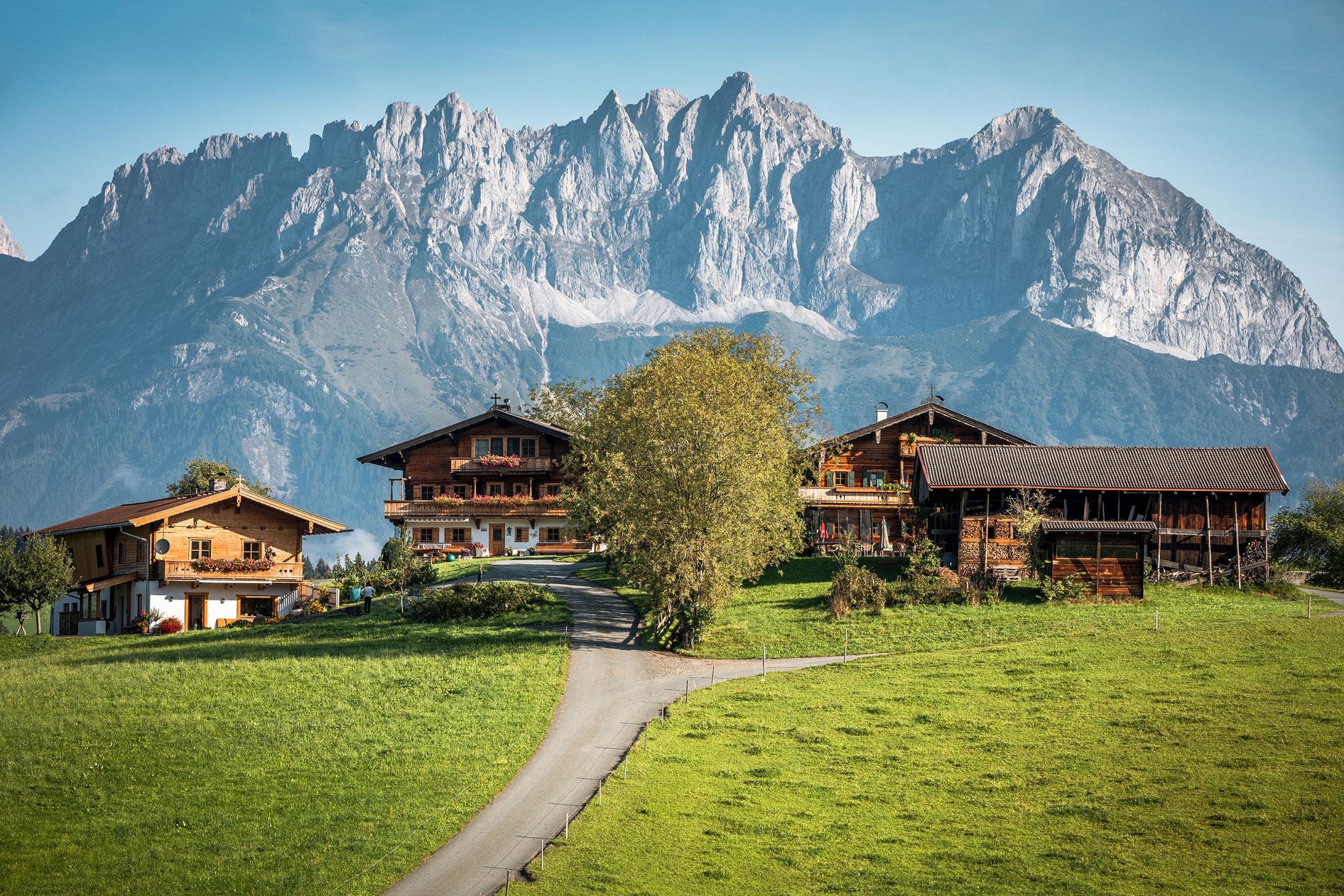 Die Kitzbüheler Alpen auf zwei Rädern erkunden