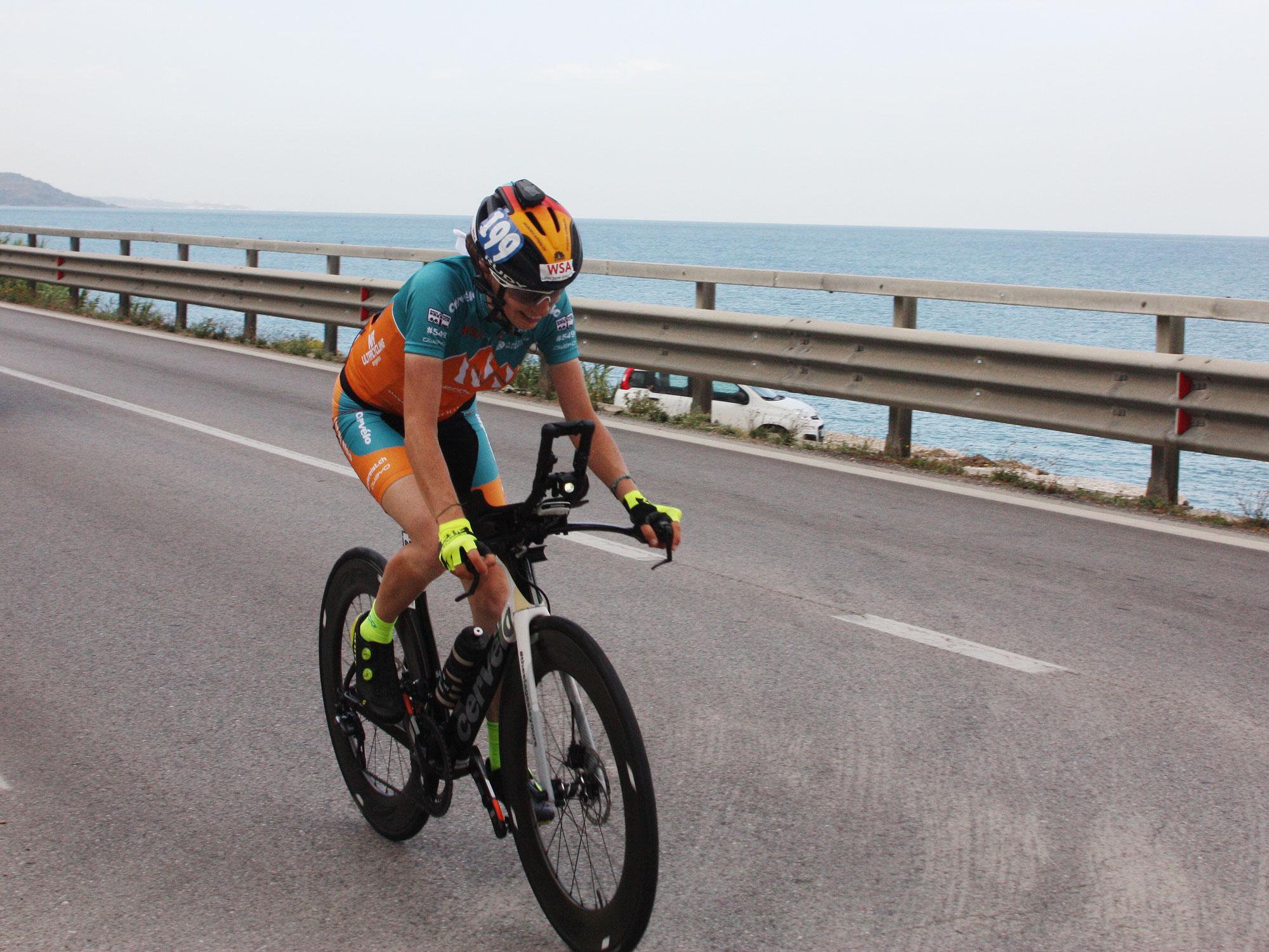 Ultracycling: Seit 10 Saisons ungeschlagen – Nicole Reist gewinnt auch Adriatic Cycling Marathon in Italien