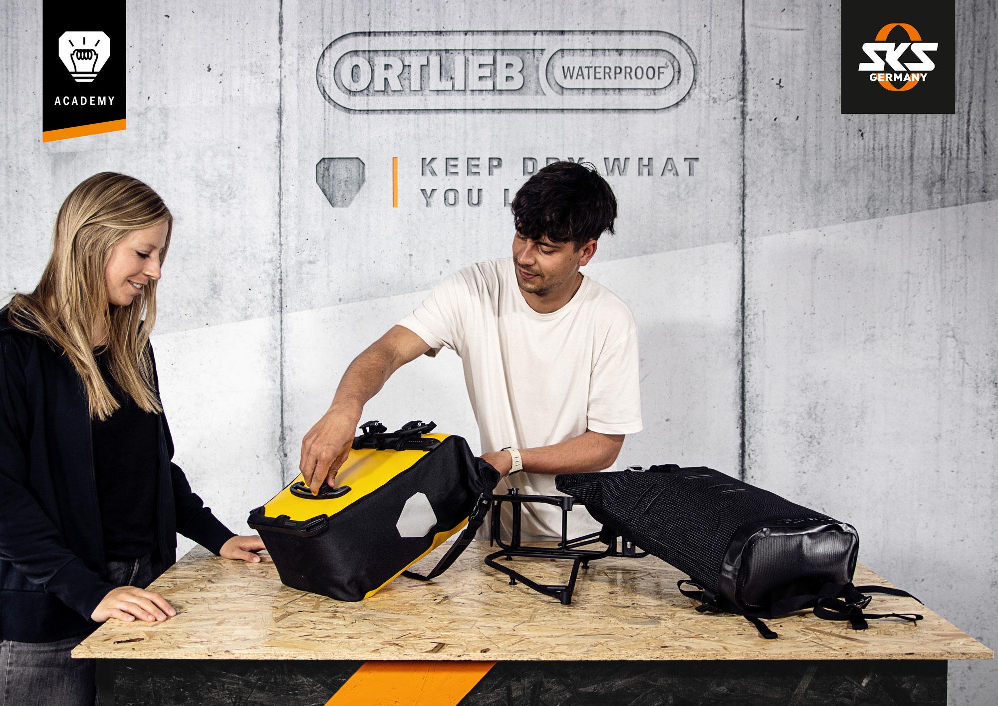 SKS GERMANY & ORTLIEB starten gemeinsame Schulungen