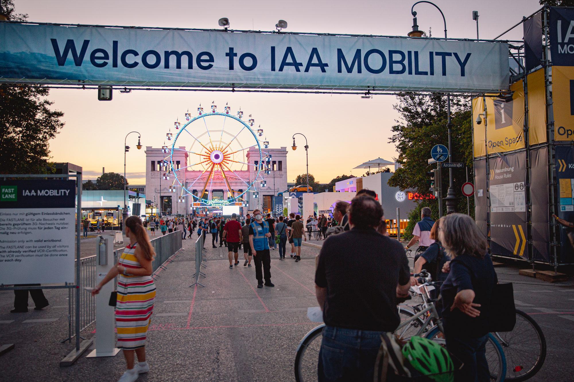 Die IAA MOBILITY 2021- Die Geburt einer neuen globalen Plattform für Fahrrad-Mobilität