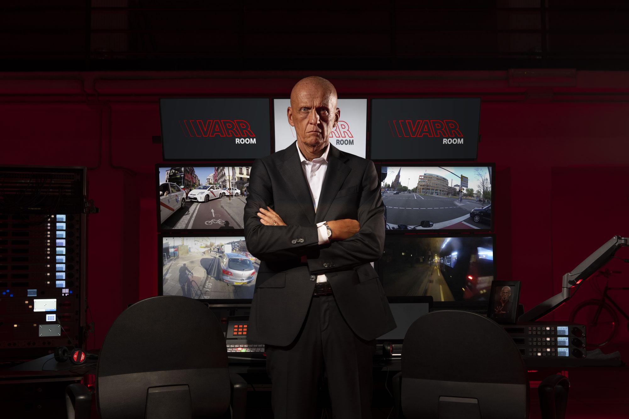 Pierluigi Collini & Vodafone: Engagement für Sicherheit im Straßenverkehr
