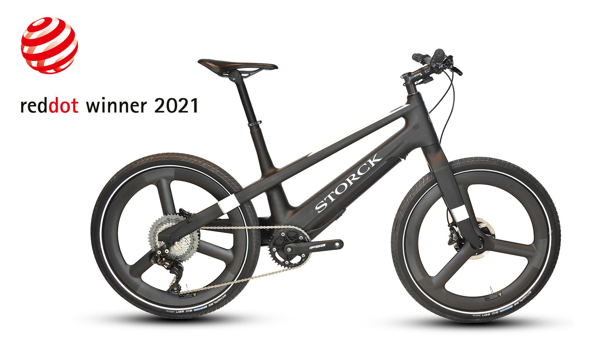 Innovatives City E-Bike STORCK name:2 gewinnt begehrte Red Dot Auszeichnung