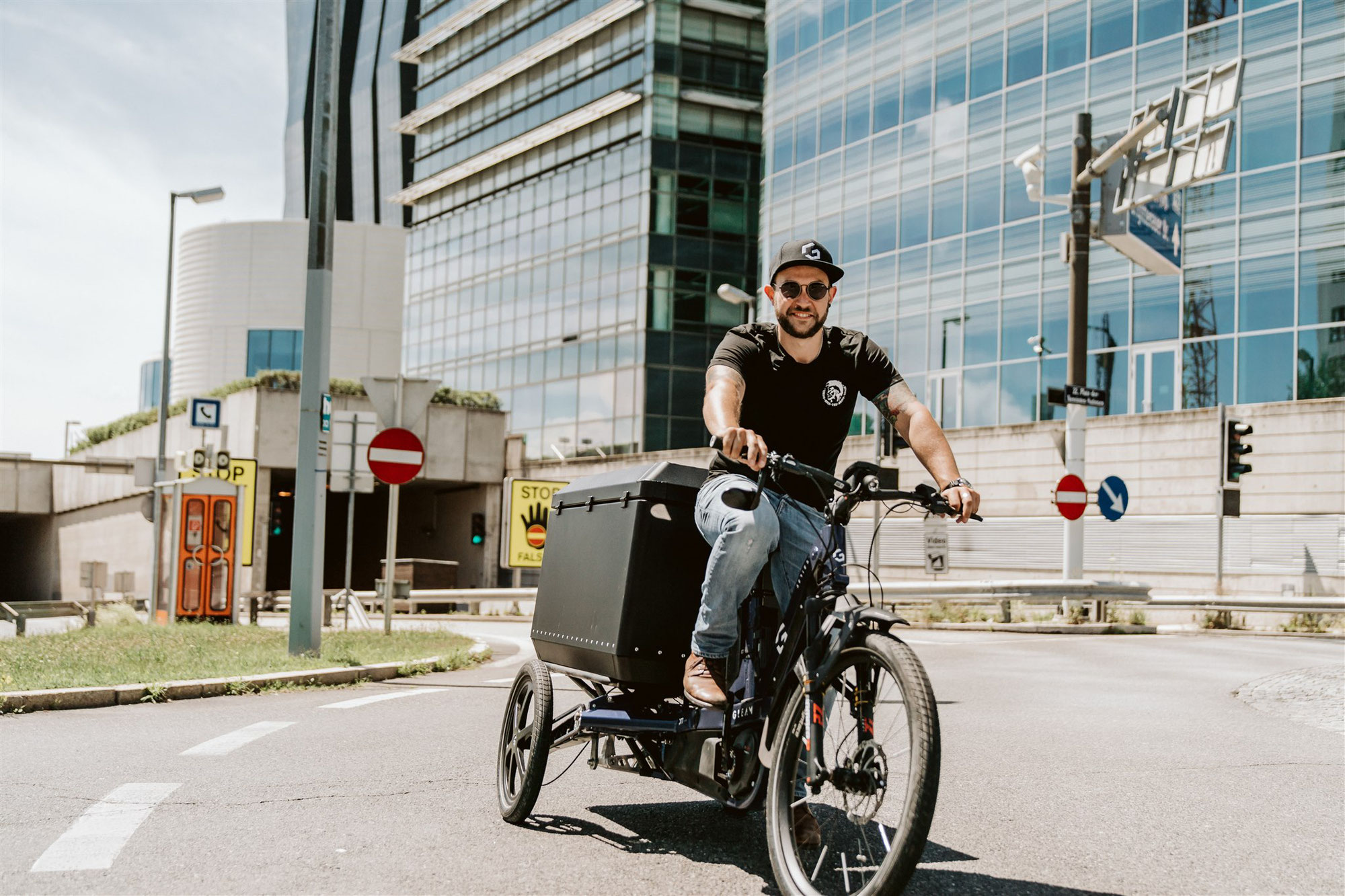 Revolution des Cargo-Bike-Marktes: Multi Use Bike von Gleam