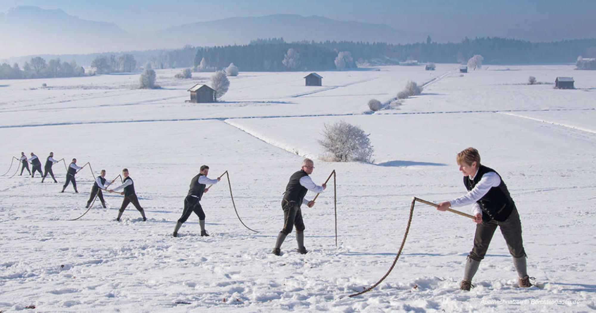 Brauchtum im Salzburgerland & Bayern - Rupertigau-Preisschnalzen 2022