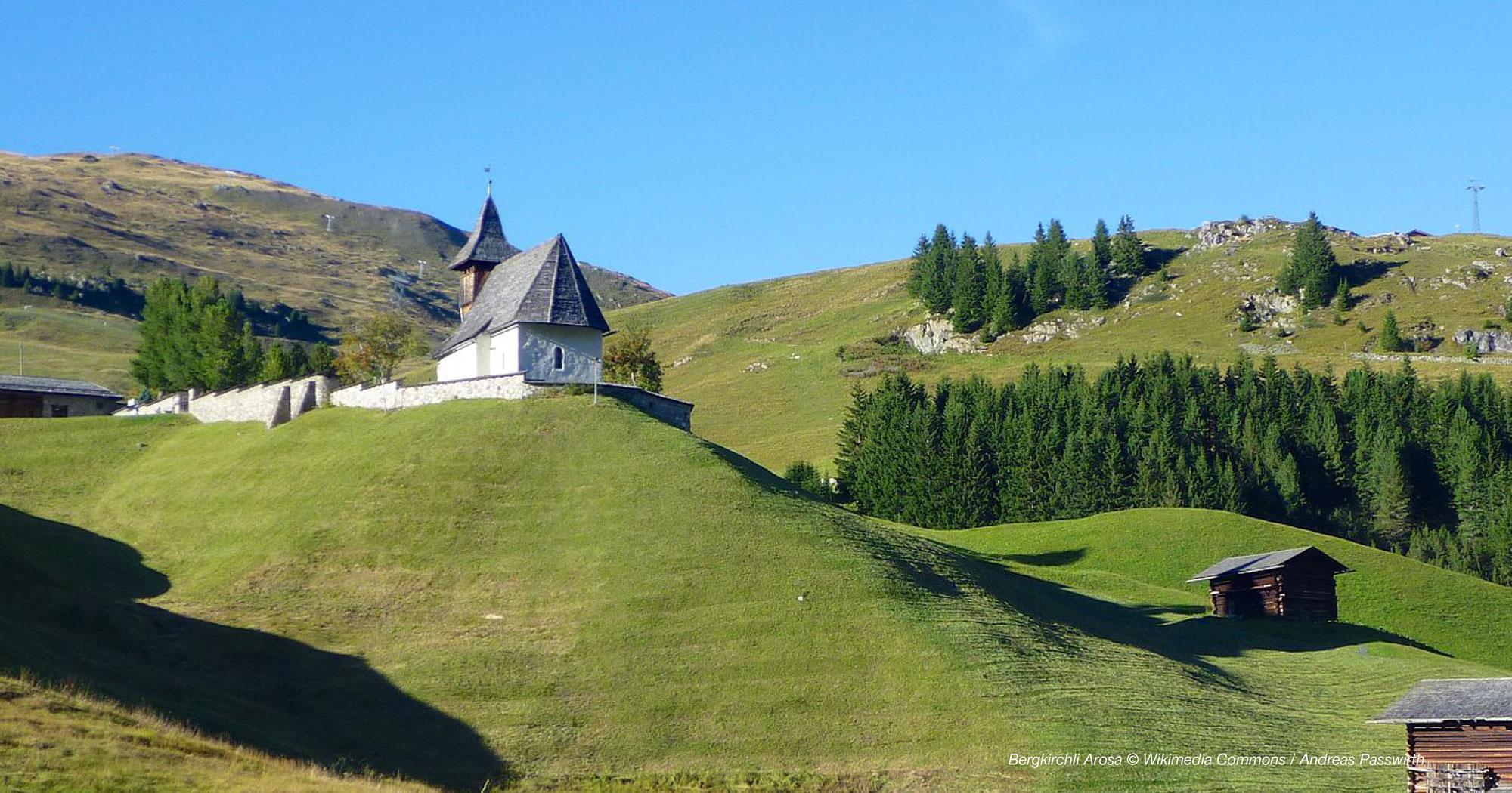 Arosa - Rund um das Bergkirchli & Eichhörnliweg