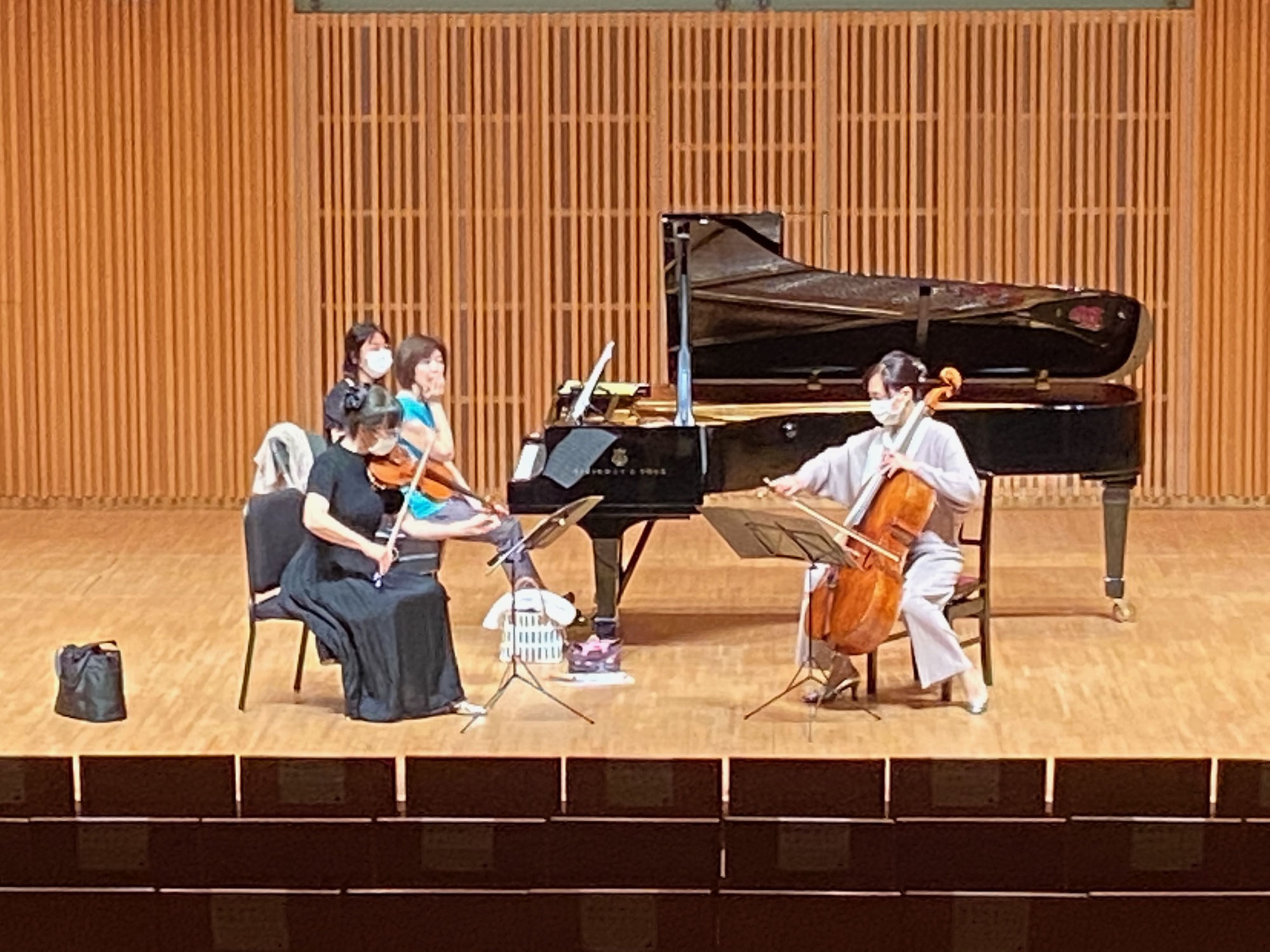 室内楽の本番  / Chamber Music Concert