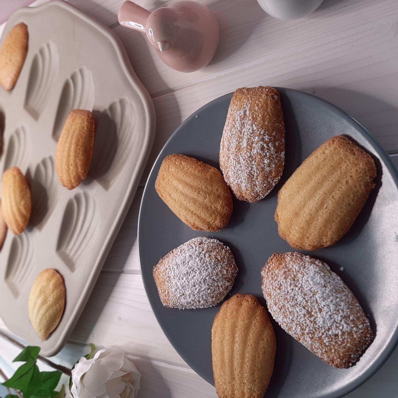 Süße Madeleines aus der Madeleine-Form aus Stoneware von Pampered Chef®
