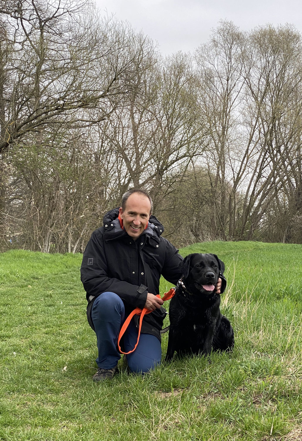 Osterspaziergang mit GEORGE