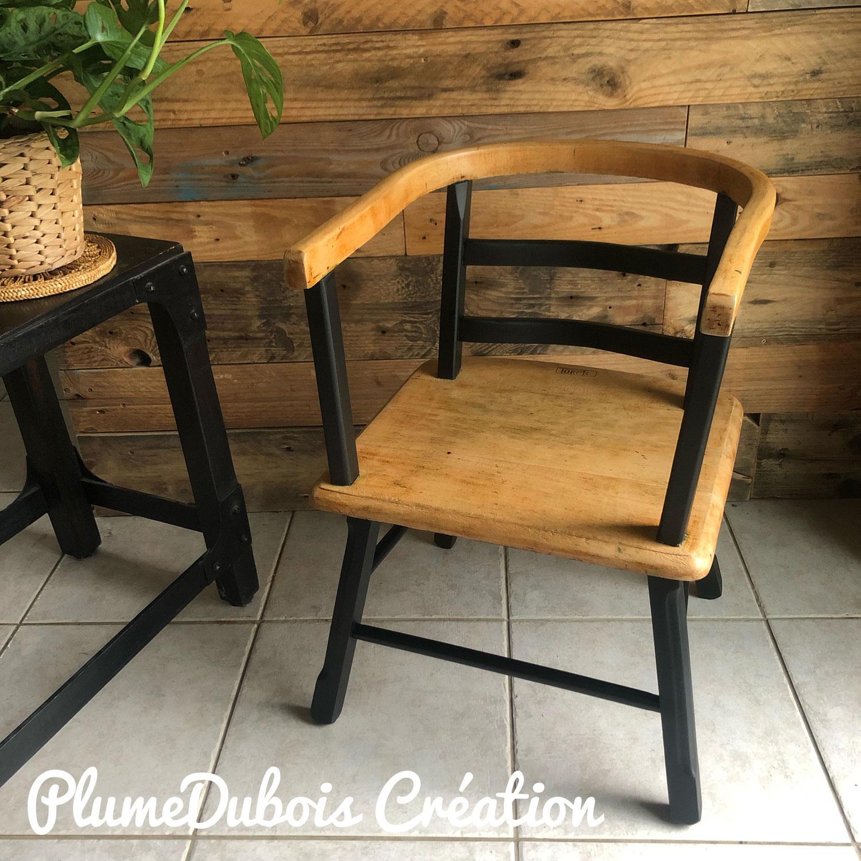 Upcycling Chaise fauteuil pour enfant Torck
