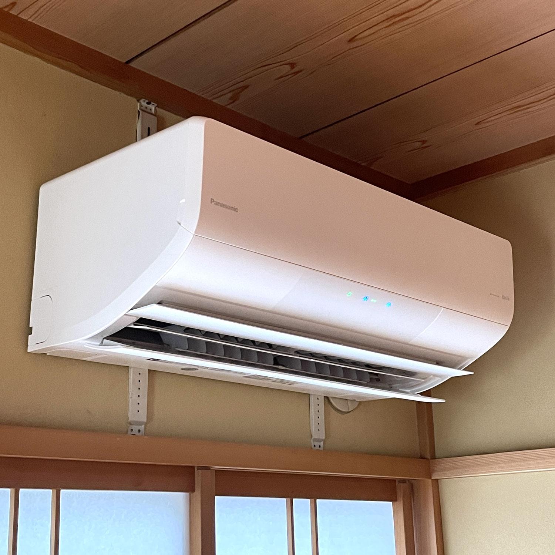 エアコンを買い替えました