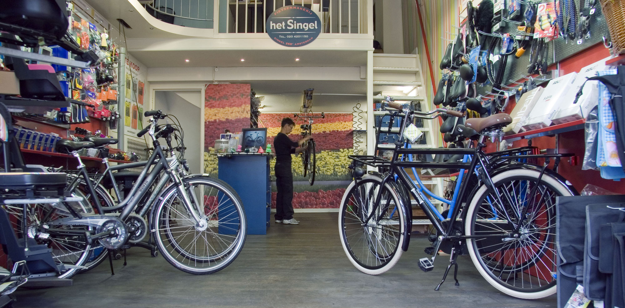 Wonderbaar Verkoop nieuw en 2e hands fietsen - fietsenmaker amsterdam centrum ZL-96